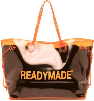 Readymade Logo-Print Tote Bag