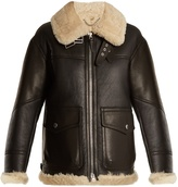 Burberry Yeoville oversized shearling jacket