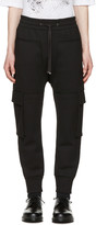 Helmut Lang Black Pocket Jogger Pants