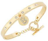 BCBGeneration Say My Name Glass Stone B Toggle Bracelet