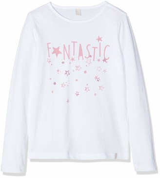Esprit Girl's T-Shirt Ls Long Sleeve Top