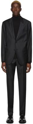 HUGO BOSS Black Pinstripe Fargo91 Suit