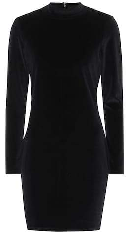 Alexander Wang Velvet cotton-blend dress