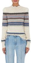 Etoile Isabel Marant Women's Blake Geometric-Pattern Sweater
