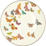 Mackenzie Childs MacKenzie-Childs Butterfly Garden Serving Platter (31cm), White