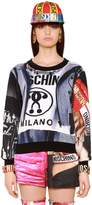 Moschino Printed Cotton Sweatshirt