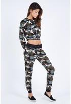 Select Fashion Fashion Women's Camo Jogger Sweatpants - size 6