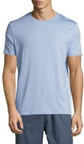 Derek Rose Basel Crewneck Lounge T-Shirt, French Blue
