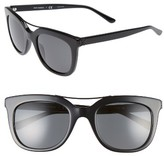 Tory Burch Women's 53Mm Retro Sunglasses - Black
