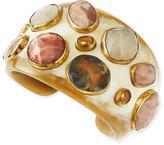 Ashley Pittman Mawe Light Horn Stone Cuff