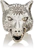 Gucci Men's Anger Forest Wolf Head Ring