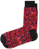Alexander McQueen Camo-Print Socks