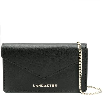 Lancaster Foldover Clutch Bag