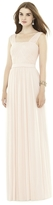 Alfred Sung D718 Bridesmaid Dress in Blush