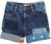 Little Marc Jacobs Vintage Effect Denim Shorts