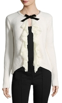 Manoush Maille Dentelle Wool Blouse