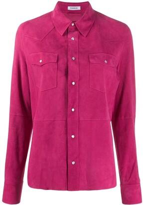 P.A.R.O.S.H. Plain Suede Shirt