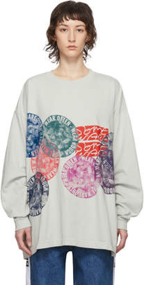 Off-White Some Ware Flower Circle New Body Long Sleeve T-Shirt