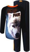 Animal Planet Run with The Pack Wolf Pajama for boys