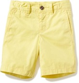 Old Navy Pop-Color Khaki Shorts for Toddler Boys