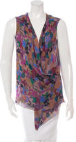 Missoni Sleeveless Silk Cardigan
