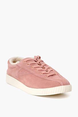 Tretorn Pink Shearling Nylite35Plus Sneakers