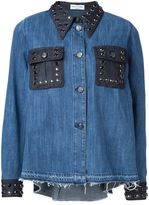 Sonia Rykiel 'Domino' denim shirt - women - Cotton - 36