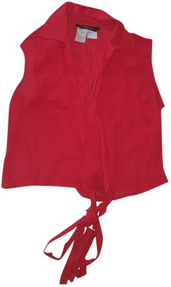 Max Mara Weekend Red Top for Women