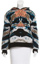 Baja East Cashmere Patterned Sweater w/ Tags