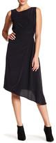 Acrobat Asymmetrical Silk Dress