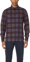 Norse Projects Osvald Melange Twill Check Top
