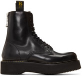 R 13 Black Military Boots