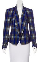 O'2nd Printed Open Front Blazer