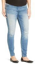 Liz Lange for Target Maternity Over the Belly Distressed Jeggings - Liz Lange® for Target