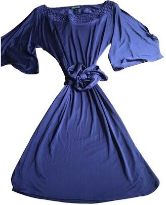 Ella Moss Purple Silk Dress for Women