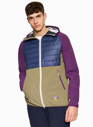 Topman BARBOUR BEACON Colour Block Jacket