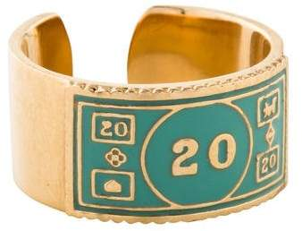 Alison Lou 14K Monopoly Stackable $20 Ring