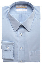 Roundtree & Yorke Gold Label Big & Tall Non-Iron Solid Regular Full-Fit Point-Collar Dress Shirt