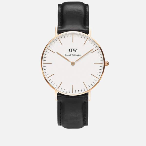 Daniel Wellington Women's Sheffield Rose Watch - Black