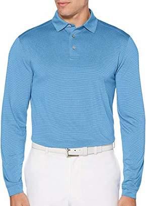 PGA TOUR Men's Performance Long Sleeve Soft Touch Polo Shirt