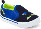 Osh Kosh Navy Monster Austin Slip-On Sneaker