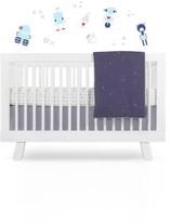 Babyletto 'Galaxy' Crib Sheet, Crib Skirt, Changing Pad Cover, Play Blanket & Wall Decals