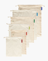 Madewell Colony Co. Six-Pack Assorted Reusable Produce and Bulk Food Bags