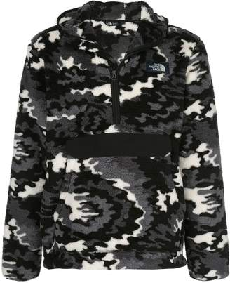 The North Face graphic-print hooded fleece
