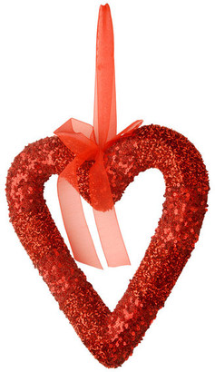 "National Tree Company 11"" Red Valentine Heart"