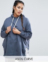 Asos Hoodie in Oversized Fit with Side Splits