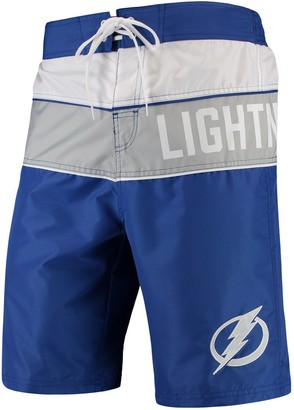 Trunks G Iii Men's G-III Sports by Carl Banks Blue/Gray Tampa Bay Lightning All-Star Swim