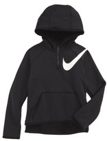 Nike Girl's Therma-Fit Half Zip Hoodie