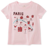 Kate Spade Paris Map Tee, Size 7-14