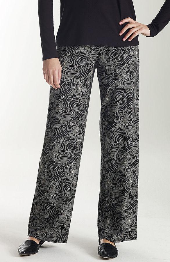 J. Jill Wearever print full-leg pants